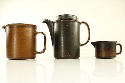Temperamentvoll Kafee & Milch Kannen Arabia Ruska Keramik Service Finnland Ulla Procopé Gute WäRmeerhaltung