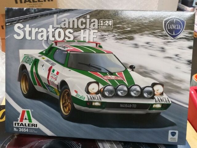 3654 Lancia Stratos Hf Italeri 1 24 Plastic Model Kit