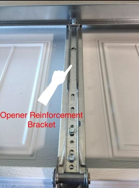 Clopay Garage Door Opener Reinforcement Bracket for A 18 -21 -24u201d & Clopay Garage Door Opener Reinforcement Bracket for a 18