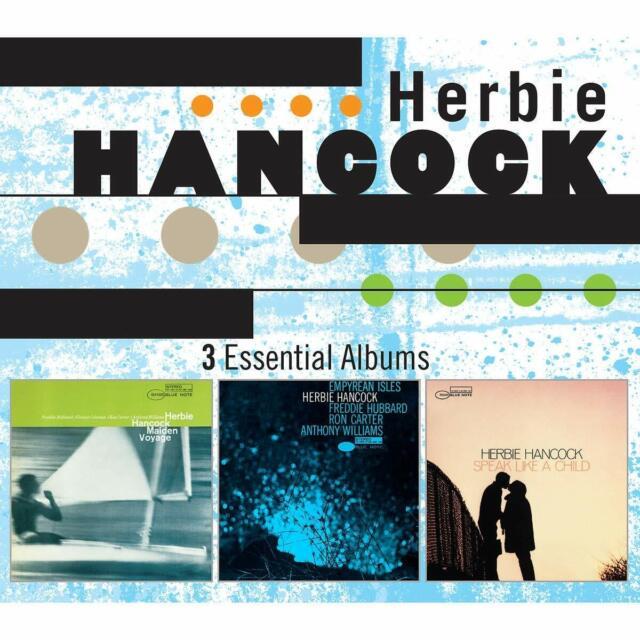 HERBIE HANCOCK - 3 ESSENTIAL ALBUMS  3 CD NEW!