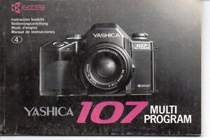 Yashica-107-Multi-Program-Instruction-Manual
