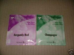 DéVoué Bourgogne Et Champagne Levure De Vin Pour Vin Making Brew. Chaque Fait 5 Gal (environ 18.93 L)-afficher Le Titre D'origine Forte RéSistance à La Chaleur Et à L'Usure