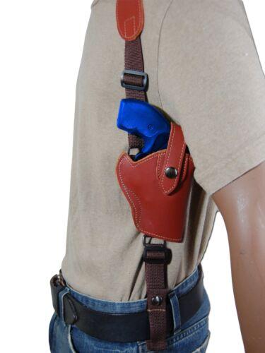 "NEW Barsony Burgundy Leather Vertical Shoulder Holster Colt 2/"" Snub Revolvers"
