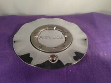 FITTIPALDI CHROME Custom Wheel Center Cap (1) P/N # M518