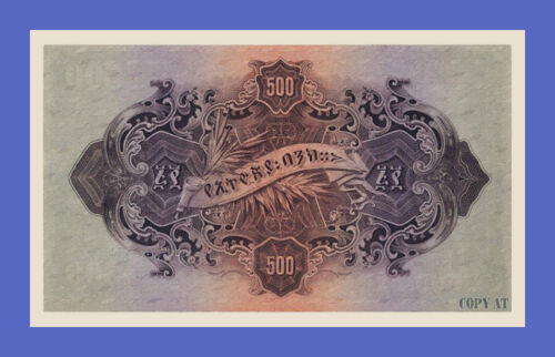 See description!!! Reproductions 500 Thalers 1915s ETHIOPIA