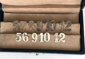 Silver-Numbers-Place-Numbers-assorted-Drink-Markers-Alpacca-Art-Deco-circ1920