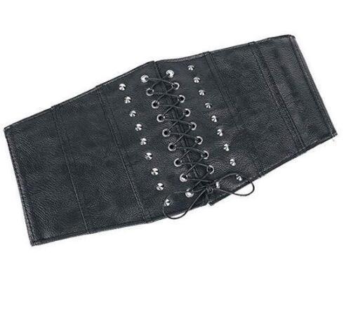 Cinturón estilo corset en polipiel Faux leather belt Jawbreaker BEL0020