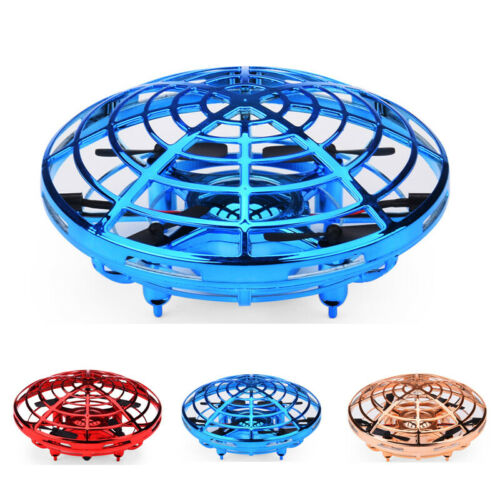 360° Mini Drone Smart UFO Aircraft for Kids Flying Toys RC Hand Control Xmas USA