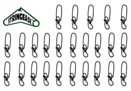 Stay-Lok Snaps Size 3 Stay Lock Snap Stringease Stay Lok Fishing Snap 25 Pack
