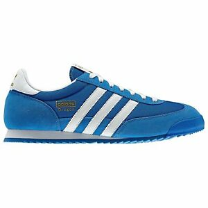 adidas dragon bleu blanc or