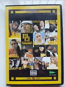 BLACK-EYED-PEAS-JAY-Z-NELLY-D12-MALA-RODRIGUEZ-RARE-SPANISH-PROMO-DVD