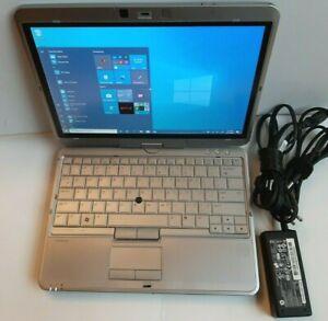 Lot-of-2-HP-EliteBook-2760p-Tablet-i5-2-5-Ghz-12-1-034-240GB-SSD-8GB-Win-10-PRO
