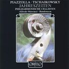 Piazzolla. Tchaikovsky - The Seasons Audio CD