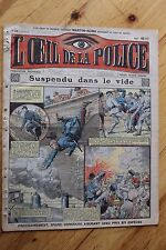 Rarissime L' OEIL DE LA POLICE 1A/22 Suspendu dans le Vide