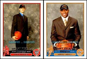 2x-TOPPS-2003-KIRK-HINRICH-NBA-BULLS-227-JARVIS-HAYES-WIZARDS-230-ROOKIE-LOT