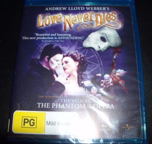 1 of 1 - Love Never Dies - Andrew LLoyd Webber (Australia Region B) Blu-ray – New