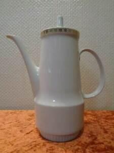DDR Kahla Porzellan Kaffeekanne / Kanne - Vintage - um 1970 - 1,2 Liter