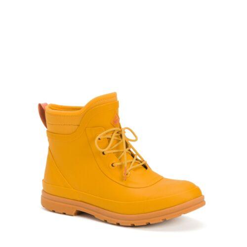 Yellow Details about  /Muck Women/'s Originals Lace Up Light Neoprene Waterproof Boots