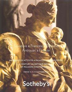 Sotheby-039-s-4x-Catalogues-Salvatore-e-Francesco-Romano-HB