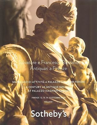 Sotheby's 4x Catalogues Salvatore e Francesco Romano HB