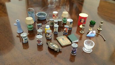 Dollhouse Tiny Tan World of Miniature Bears Teddy Bear Doll House Miniatures