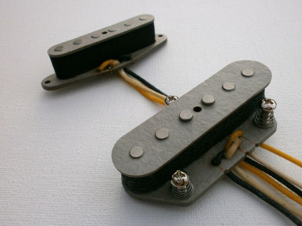 Grifo de bobina Telecaster A2 A2 A2 A5 Conjunto De Pastillas caliente mano Personalizado herida se ajusta Fender qpickups  Envio gratis en todas las ordenes