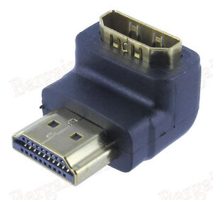 """B2G1 Free 1/"""" HDMI 1.4 Male to HDMI Male Narrow Premium Cable Adapter 1080p"""