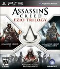 PLAYSTATION 3 PS3 GAME ASSASSIN'S CREED: EZIO TRILOGY BRAND NEW & FACTORY SEALED