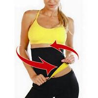 Thermo Sweat Tummy Trimmer Body Shaper Slimming Waist Trainer Cincher Yoga Belt