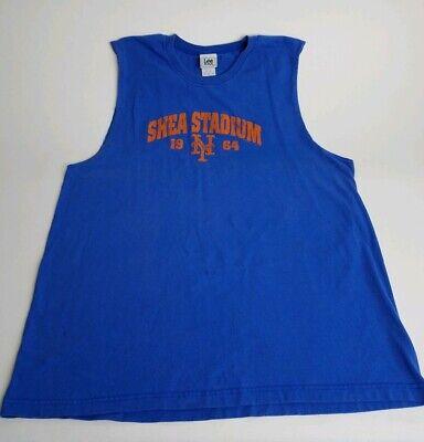 Met Tank Tops for Men Stretchy Sleeveless Athletic Shirts New York Baseball Mr