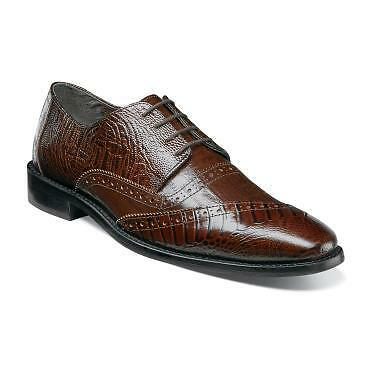Stacy Adams Men's Garzon Cognac Oxford shoes 25028-221