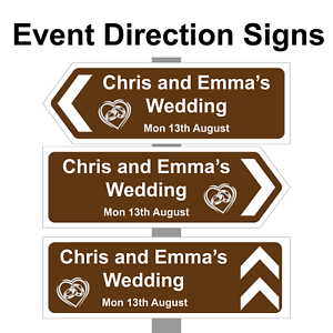 Personalised-Wedding-ring-Direction-Sign-Road-Sign-names-event-amp-date-Correx
