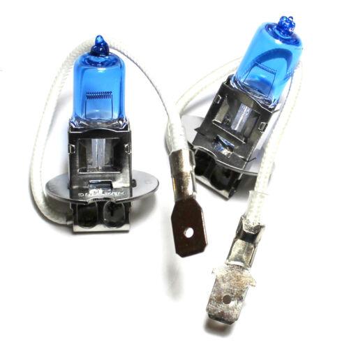 Volvo S40 MK1 H7 H7 H3 T4W 55w ICE Blue Xenon High//Low//Fog//Side Headlight Bulbs