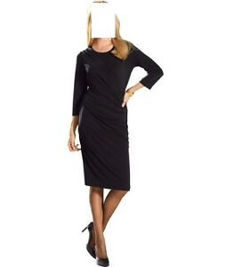 Cocktail In Wickel Kleid Party Optik Jersey Schwarz Gr 42 0516188391 Marken xZRCq1nWw