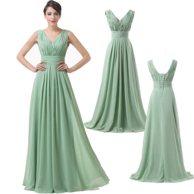 Elegant Quinceanera Ball Gowns Long Formal Bridesmaid Evening Prom Party Dresses