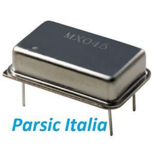9,8304MHz 9.8304 MHz OSCILLATORE AL QUARZO 4 PIN RETTANGOLARE  (Qty: 2 PEZZI)