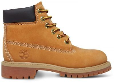 Timberland 6 Inch Premium Wheat 12709 Youth Preschool Boots Shoes