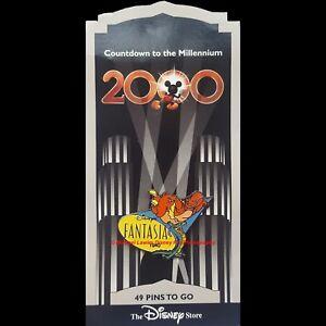 Disney Store Countdown To The Millennium Pin 50 Fantasia Ali Gator