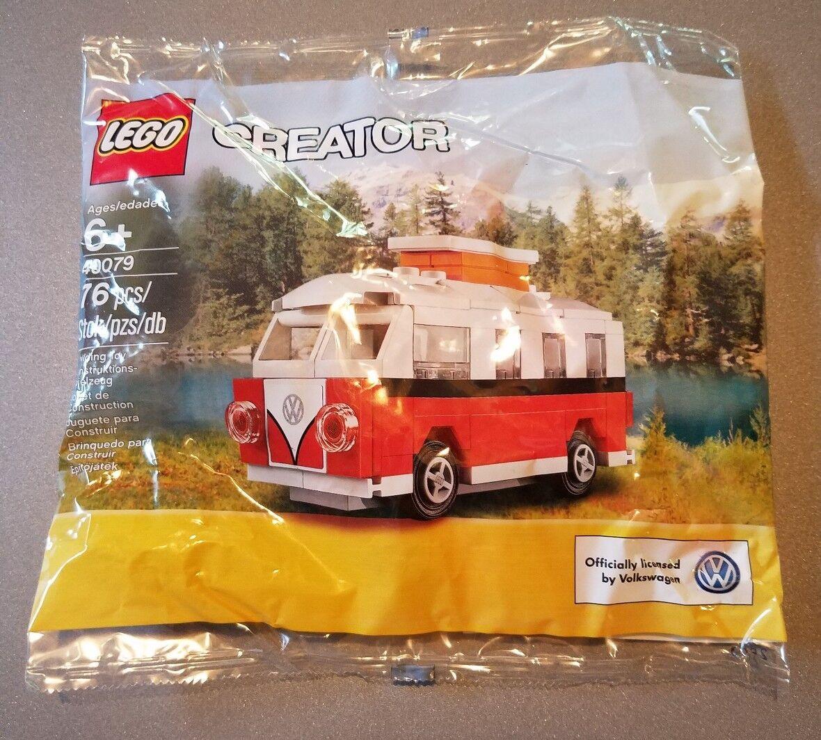 Lego Creator Mini Vw T1 Camper Van 40079 Fqhwzk4793 Lego Complete
