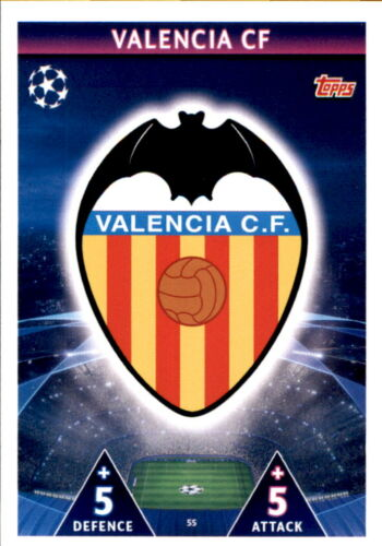 Champions League 18//19 mapa 55-valencia cf-club logotipo