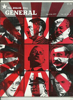 Bello Avalon Hill, La Rivista Generale-volume 13 #5 (1977)-mostra Il Titolo Originale