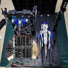 4X Mechanical Chain Action Base Machine Nest for MG 1/100 Gundam Model W/Decals