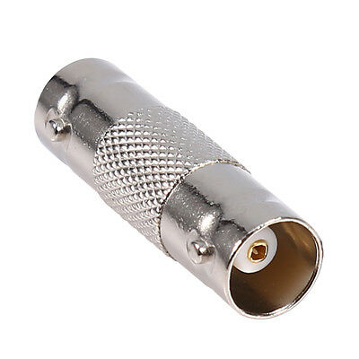 UK Based BNC Female to Female Connectors Inline Coupler CCTV Coax Cable F-F