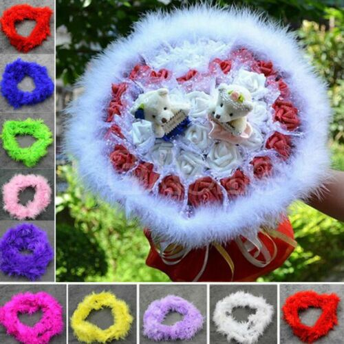 Dress Up Fluffy Craft Home Decor For Wedding Party Decros Fuffy Feather Boa