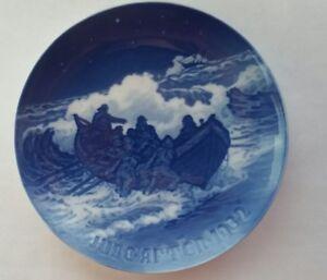 B G Bing Grondahl 1932 Blue White