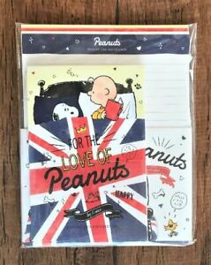 Letter-Sheet-Envelope-Set-Snoopy-Peanuts-The-Union-Jack-Stationery-Japanese-14