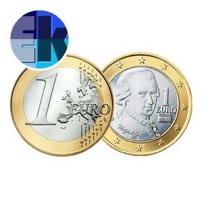 Ek // 1 euro Autriche # Pièce Nueve : Sélectionnez une Année :