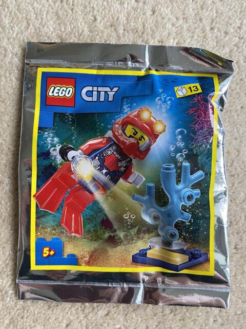 LEGO CITY DEEP SEA DIVER POLYBAG (SET 952012)