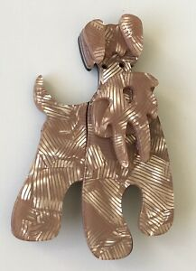 Unique-large-Dog-Brooch-Pin-In-acrylic