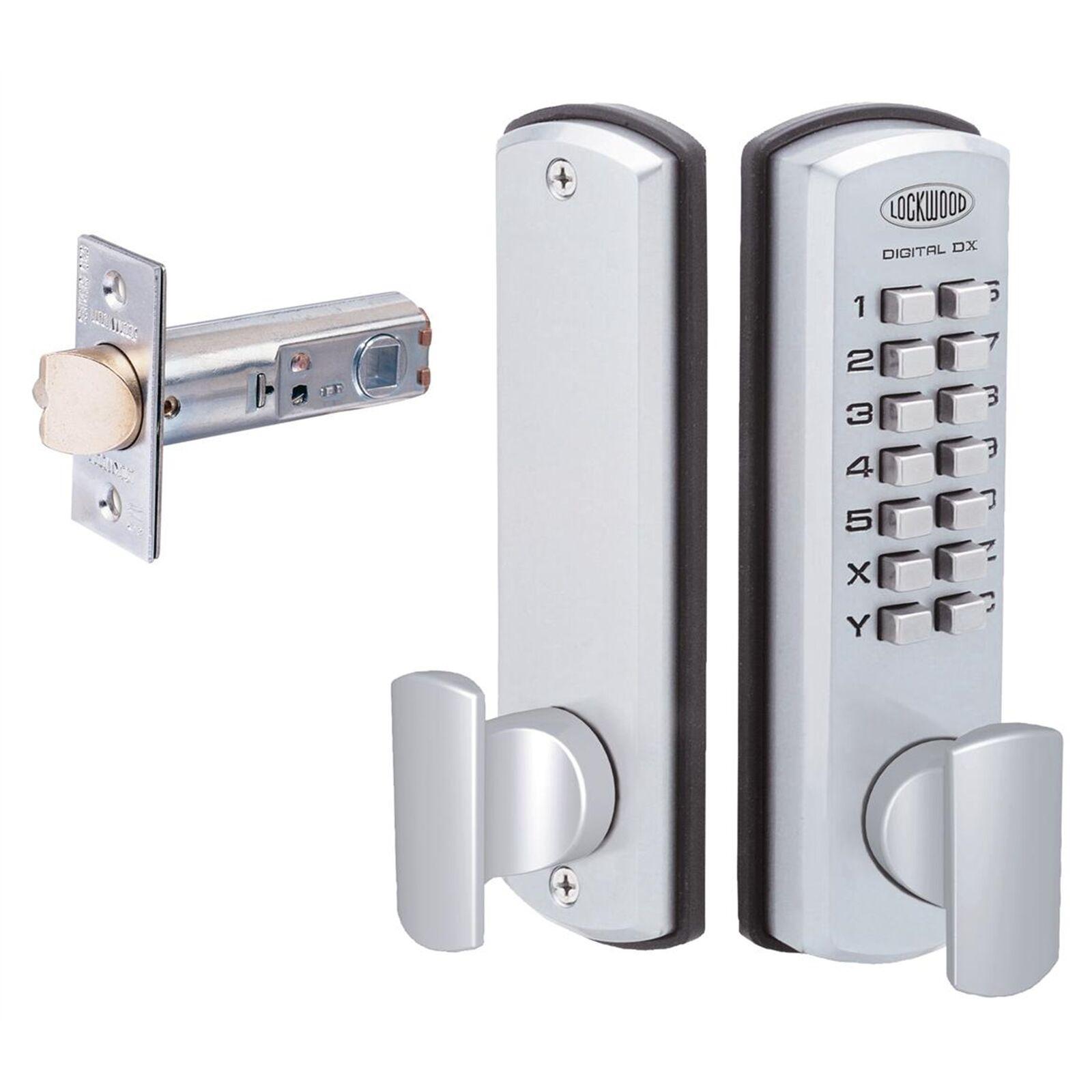 Lockwood 530 Digital Cerradura De Puerta Mango Juego de entrada sin llave DX Combo 530 dxscdp